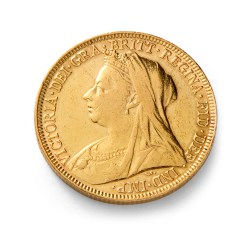 GBD_Queen_Victoria_Veiled_Head_Gold_Half_Sovereign